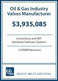 $3.9MM for Oil & Gas Industry Valve Manufacturer