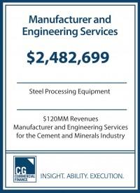 2.48MM Completed by Vendor Services for Steel Manufacturer